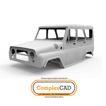 3D modeling and CAE analyzing of the UAZ carbody